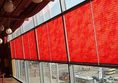 плиссе шторы - вариант 3