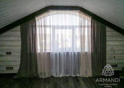 шторы для мансардных окон - вариант 2