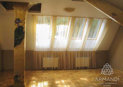 шторы для мансардных окон - вариант 3