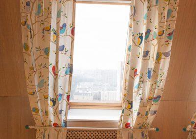 шторы для мансардных окон - вариант 1