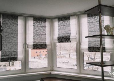 римские шторы - вариант 1