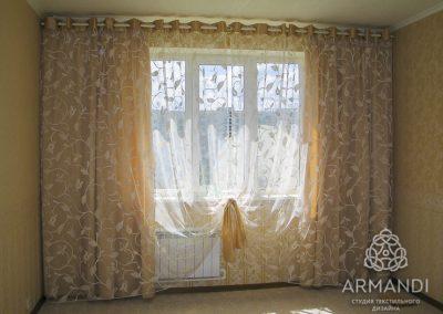 шторы для гостиной - вариант 10