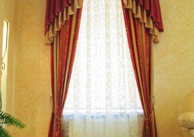 шторы для гостиной - вариант 12