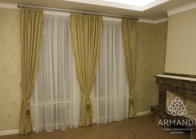 шторы для гостиной - вариант 14