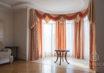 шторы для гостиной - вариант 17