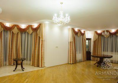 шторы для гостиной - вариант 18