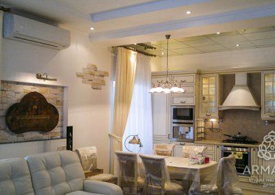 шторы для гостиной - вариант 3