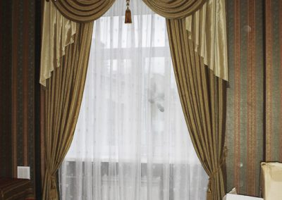 шторы для гостиной - вариант 7