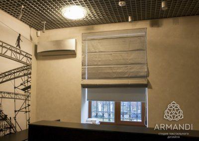 шторы для офиса - вариант 4