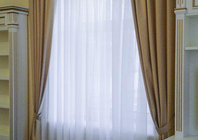 шторы для спальни - вариант 3