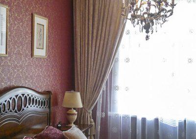 шторы для спальни - вариант 4