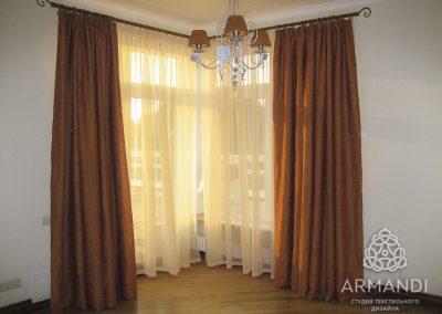 шторы для спальни - вариант 5
