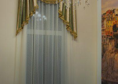 классические шторы - вариант 10