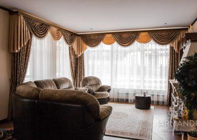 шторы для загородного дома - вариант 3