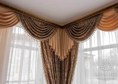 классические шторы - вариант 7