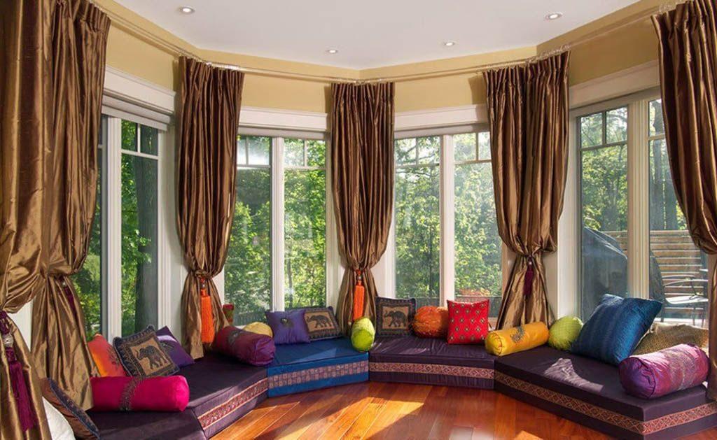 шторы в марокканском стиле - 3