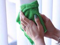 фото как мыть вертикальные жалюзи