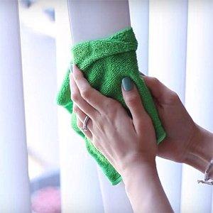 Как мыть вертикальные жалюзи