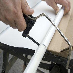 Как обрезать рулонные шторы