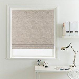 Как повесить римскую штору на окно