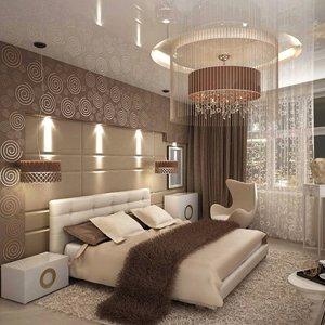 Шторы в спальню: от выбора до повески