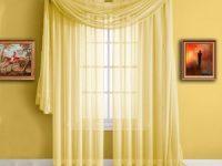 фото желтых штор
