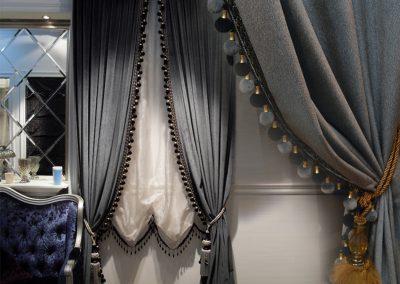 шторы из бархата - фото 1