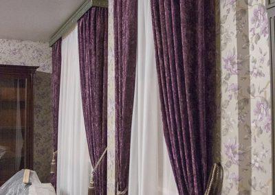 классические шторы - вариант 6