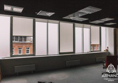 шторы в стиле минимализм - вариант 6