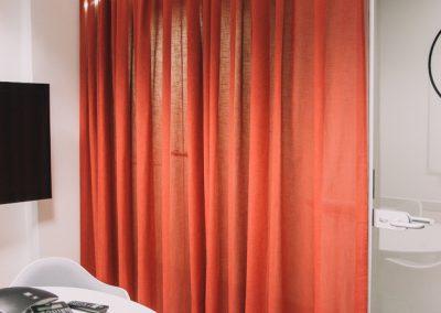 шторы в стиле минимализм - вариант 8
