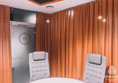 шторы в стиле минимализм - вариант 9