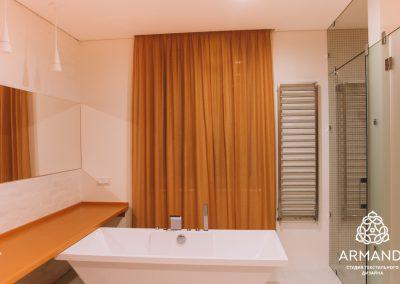 шторы в стиле минимализм - вариант 10