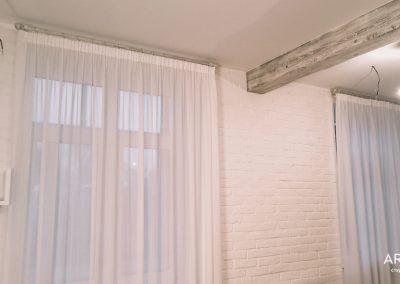 шторы в стиле минимализм - вариант 4