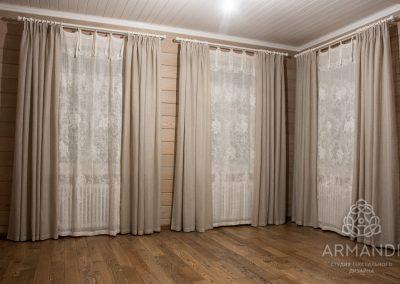 шторы для загородного дома - вариант 1