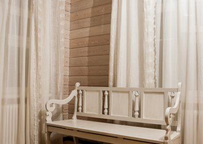 шторы в стиле кантри - вариант 3