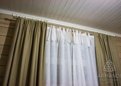 шторы в стиле кантри - вариант 6
