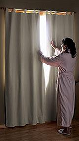 Солнцезащитные светонепроницаемые шторы