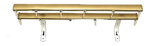 Декоративные профильные карнизы СТ-2005, цвет золото матовое