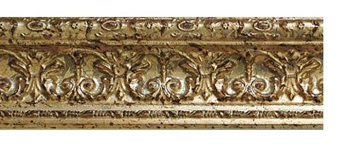 Багетные карнизы Эрмитаж, цвет золото античное