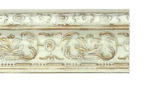 Багетные карнизы Эрмитаж, цвет слоновая кость