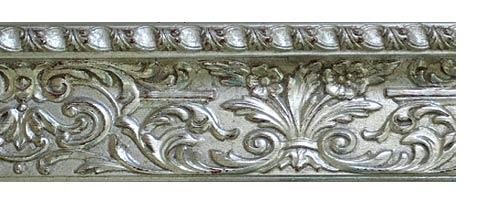 Багетные карнизы Колизей на заказ, цвет серебро античное