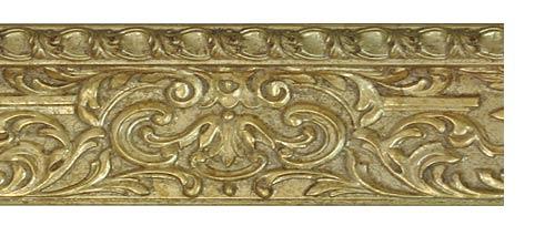 Заказать багетные карнизы Колизей, цвет золото античное