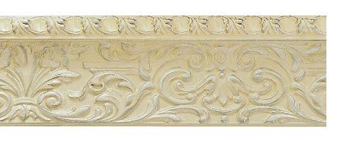 Багетные карнизы Колизей, цвет ванильное серебро