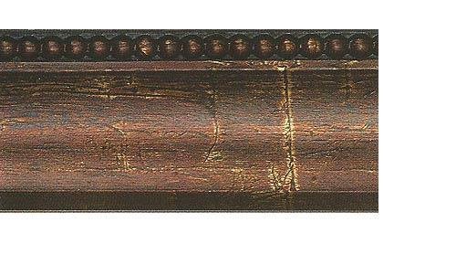 Багетные карнизы Лувр, цвет бронза