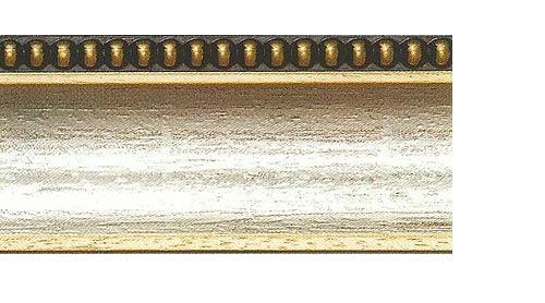 Багетные карнизы Лувр, цвет золото античное