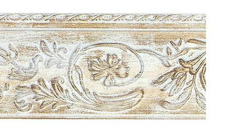 Багетные карнизы Прадо, цвет белое золото