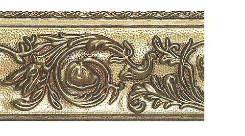 Багетные карнизы Прадо, цвет золото античное