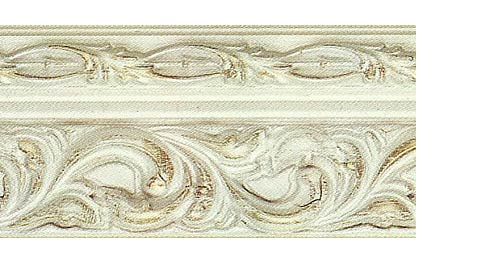 Багетные карнизы Версаль, цвет слоновая кость