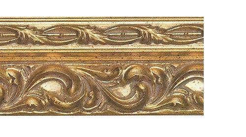 Багетные карнизы Версаль, цвет золото античное