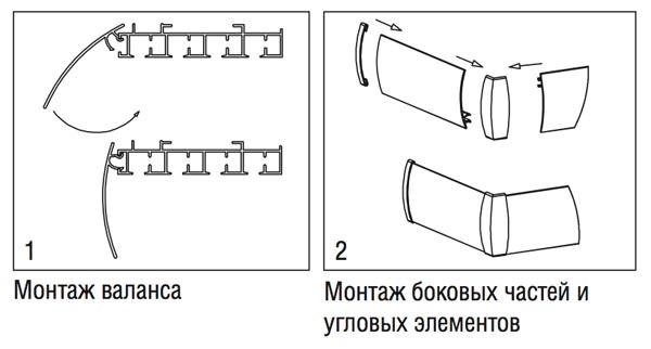 На представленных ниже схемах